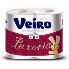 <b>Туалетная бумага Veiro Luxoria</b> 4 слоя | Отзывы покупателей