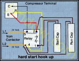 diagram page compressor hard start