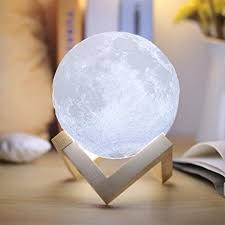 <b>Moonlight</b> Lamp, V-Mix Night Light <b>3D Printing Moon Lamp</b> Lunar ...