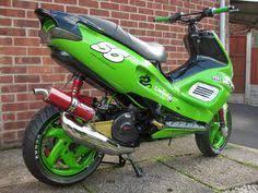 <b>Moto</b> heck | Sapphire | <b>Custom moped</b>, <b>Scooter custom</b>, Motorbikes