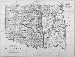 n removals oxford research encyclopedia of american history map of n territory 1885