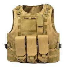 <b>Outdoor Hunting Vest</b> Multi Pockets <b>Military</b> Plate Carrier Molle ...