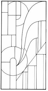 art deco stained glass designs dover publications when i see this i think of art deco furniture lines