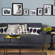 pale blue and charcoal grey living room blue gray living room