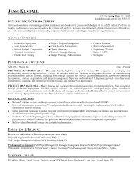 it program manager resume program manager cv project manager gallery photos of construction management resume examples