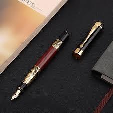 <b>1pcs High quality</b> classical fountain pen wood grain high grade ...
