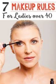 7 makeup rules for las over 40