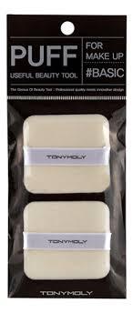 <b>Прямоугольный пуф Flocking</b> Puff Square 2шт от Tony Moly купить ...