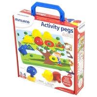 <b>Miniland Мозаика</b> Activity <b>Pegs</b> 18 элементов (31787) — <b>Мозаика</b> ...