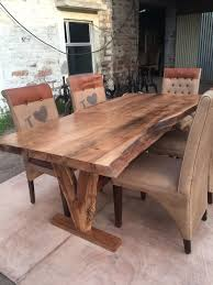 7ft dining table: yosemite live edge table acacia solid wood