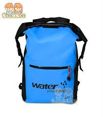 <b>PVC</b> Waterproof <b>Outdoor</b> Backpack Foldable Hiking Beach Bucket ...