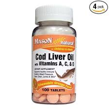 Amazon.com: Mason Vitamins <b>Cod Liver</b> Oil With Vitamin A, C & D ...