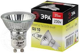 Купить <b>Лампа галогенная Эра</b> GU10 35Вт с доставкой на дом по ...