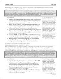 consultant resume example for a senior manager strategy consultant resume page 2