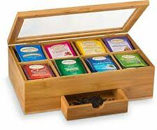 <b>bamboo tea box</b> products for sale   eBay