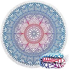 2020 New Round of Digital Printing Beach Towel ... - Amazon.com