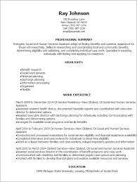 Resume Templates  Social And Human Services Assistant Resume My Perfect Resume