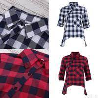 Fashion Plaid <b>Woman</b> Shirt Canada   Best Selling Fashion Plaid ...
