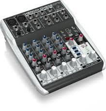 <b>Behringer QX602MP3</b> компактный микшер, 6 каналов (2 мик. 2 ...