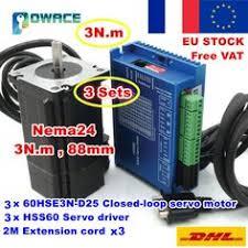eBay #Sponsored FRA <b>4 Axis Nema34</b> Dual Shaft 154mm Stepper ...