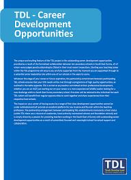 career development opportunities teach develop lead career development opportunities