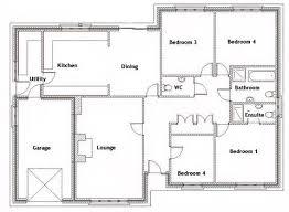Awesome Floor Plans For Bedroom Houses   Bedroom Floor House        Good Floor Plans For Bedroom Houses    Bedroom Bungalow Floor Plan