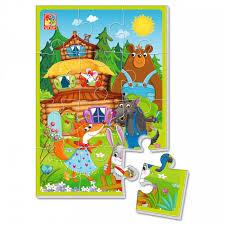<b>Мягкие пазлы</b> А5 Теремок (12 элементов) <b>Vladi toys</b> — купить в ...