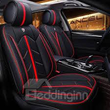 Color Blocking <b>Advanced</b> Design Leather Universal Fit <b>Car Seat</b> ...