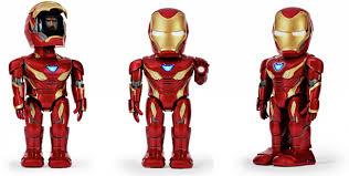 Робот <b>Ubtech Iron</b> Man Mk50 Red - купить по низкой цене с ...