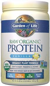 Garden of Life <b>Organic</b> Vegan <b>Protein</b> Powder with Vitamins and ...