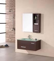 element contemporary bathroom vanity set: design element christine x espresso single modern bathroom vanity set