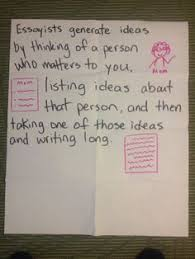 ideas on pinterest essayists gather ideas for personal essays by thinking of a person who is important to us