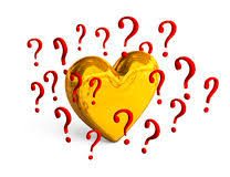 Znalezione obrazy dla zapytania serce i znak zapytania