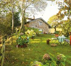 rustic small house with beautiful garden in spanish amazing rustic small home