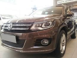 <b>Защита радиатора Premium черная</b> нижняя Volkswagen Tiguan ...