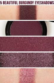 5 Beautiful <b>Burgundy</b> Eyeshadows   <b>Eyeshadow</b>, Makeup obsession ...