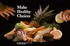mythbusters healthy eating organic living com make healthy choices poster healthy eating vs