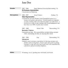 bartenders resume writing service  corezume coresume  how to make a bartender resume sample bartender resume examples