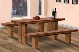 small dining bench: small kitchen table with bench home design ideas with regard to small kitchen tables with