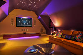 romantic mood lighting in living room with star ceiling light and under cabinet led strip bedroom mood lighting mood
