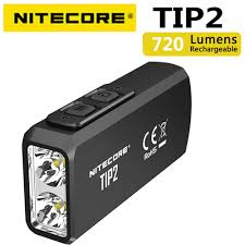 <b>100</b>% <b>Original</b> Mini Light <b>NITECORE</b> TIP2 CREE XP G3 S3 720 ...
