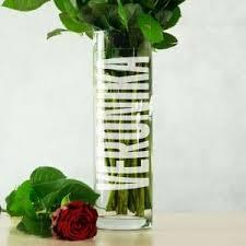 <b>Именная ваза для цветов</b> | Долина Подарков