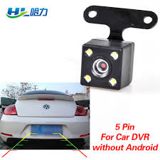 <b>Car Rear View Camera</b> with 5 pin for Car DVR Dashcam without ...