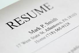 five resume header tips brooks