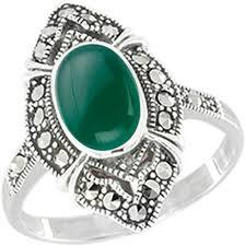 Серебряный перстень <b>Марказит</b> HR1049-hrizopraz-<b>mr</b> с ...