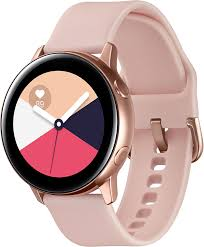 <b>Умные часы Samsung Galaxy</b> Watch <b>Active</b>, розовое золото