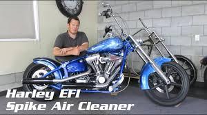 Harley EFI <b>Spike Air Cleaner</b> Install - YouTube