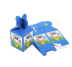 <b>6pcs</b>/lot Pokemon Pikachu theme Cartoon paper bags <b>baby shower</b> ...