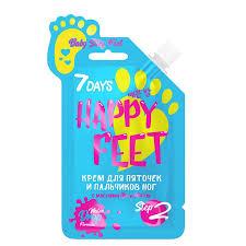 <b>Крем для</b> ног <b>7DAYS</b> с маслами ши и мяты Baby silky feet happy ...