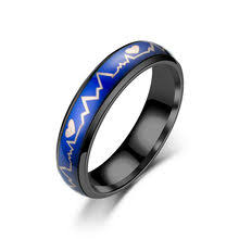 Shop Ring That <b>Changes Color</b> to The Temperature - Great deals on ...